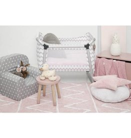 Lorena Canals Lorena Canals tapijt hippy soft pink