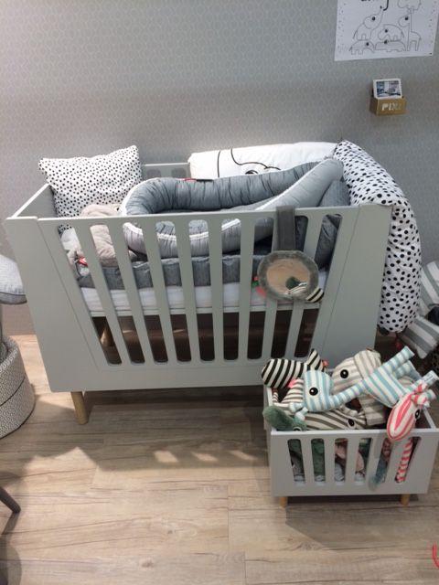 Baby En Peuterbed.Done By Deer Baby Peuterbed Blue 60x120 Monstertjes Urban Baby