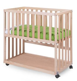 Childhome Childwood co-sleeper + wielen beuk naturel