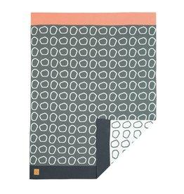Lassig Lassig knitted blanket pebbles light grey