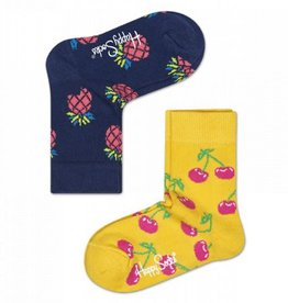 Happy Socks Happy Socks 2-pack Cherry 12-24 maanden