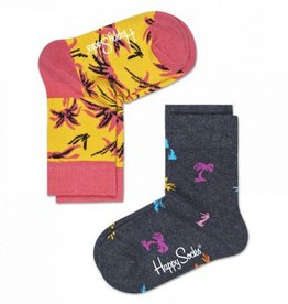 Happy Socks Happy Socks 2-pack Palm Beach