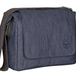 Lassig Lassig verzorgingstas messenger bag denim blue