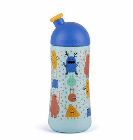 Suavinex Suavinex fles sporty Booo blauw