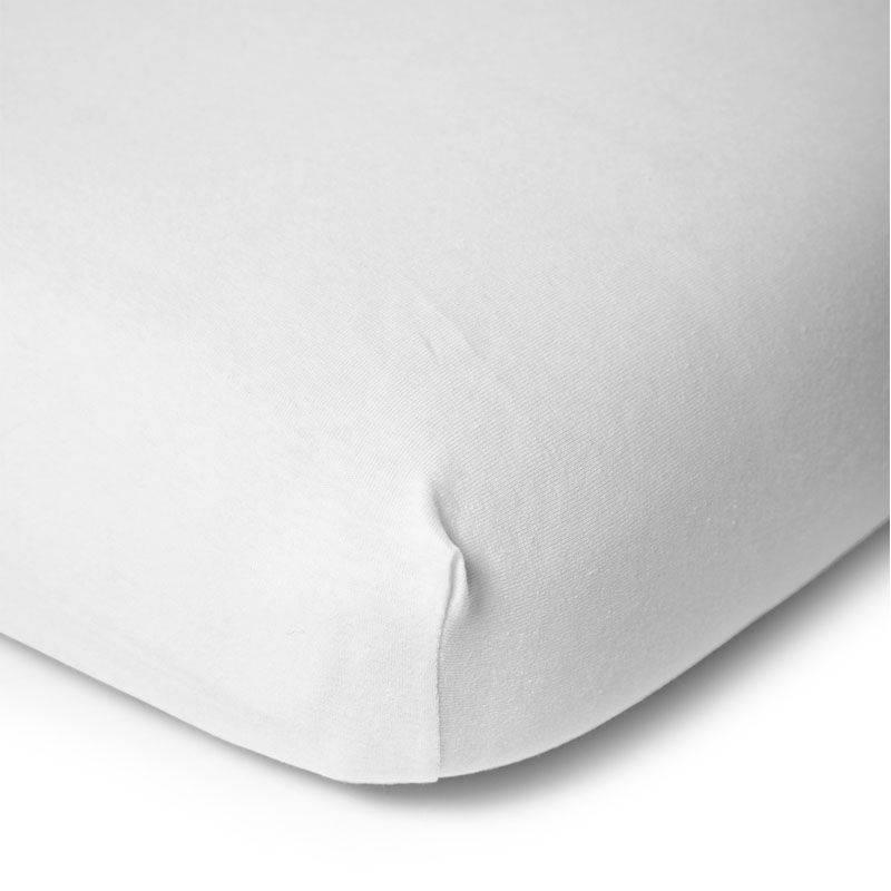 Childhome Childwood hoeslaken wit bedkant wieg 50x90
