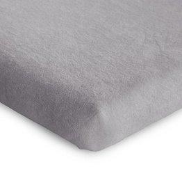 Childhome Childwood hoeslaken tricot grijs park 75x95