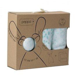 Peppa Peppa gift set houses soft white/mint