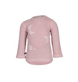 nOeser nOeser t-shirt Hilly planet pink maat 80