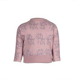 nOeser nOeser sweater Belle batwing poodle pink