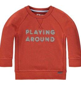 Tumble 'n Dry Tumble 'n Dry sweater Cadmian terracotta maat 74