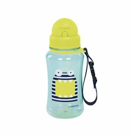 Lassig Lassig drinkfles little monsters blue