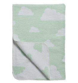 Meyco Meyco dekentje little clouds mint