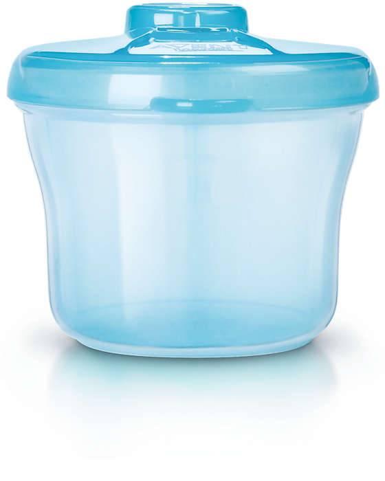 Avent Avent verdeeldoosje melkpoeder blauw