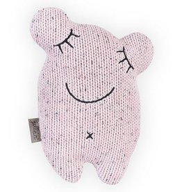 Jollein Jollein knuffel confetti monster vintage pink
