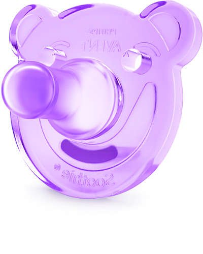 Avent Avent Soothie speen +3m pink/purple 2st