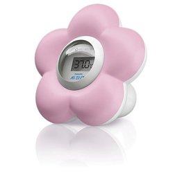 Avent Avent digitale babybad- en kamerthermometer roze