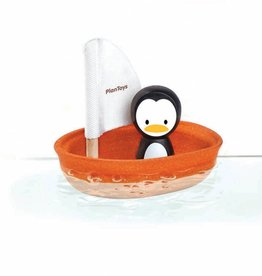 PlanToys PlanToys zeilboot pinguïn