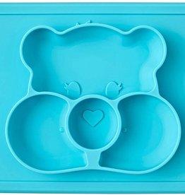 Ezpz Ezpz Care Bear mat turquoise