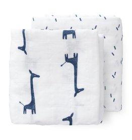 Fresk Fresk tetradoeken giraf indigo blue 2st