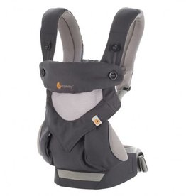 Ergobaby Ergobaby draagzak 4 posities 360° cool air Carbon Grey