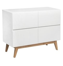 Quax Quax Trendy White commode 4 laden