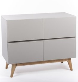 Quax Quax Trendy Griffin Grey commode 4 laden