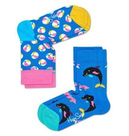 Happy Socks Happy Socks 2-pack Beach Ball maat 0-12 maanden