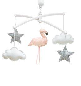 Pouce et Lina Pouce et Lina mobiel coral flamingo