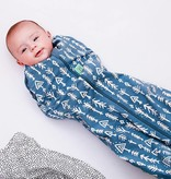 Ergopouch Ergopouch swaddle sleepbag 0-3m 1.0 tog midnight arrows
