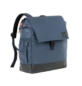 Lassig Lassig verzorgingstas little one & me backpack reflective big navy