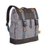 Lassig Lassig verzorgingstas little one & me backpack big grey