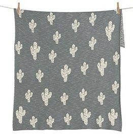 Quax Quax dekentje tricot cactus