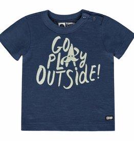 Tumble 'n Dry Tumble 'n dry Norris t-shirt deep bleu