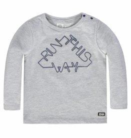 Tumble 'n Dry Tumble 'n dry Nilo t-shirt grey melange