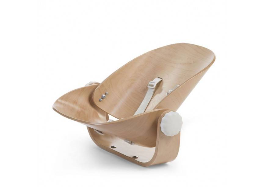 Childhome Childwood evolu newborn seat naturel/wit