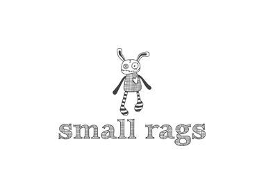 Small Rags Small Rags kleedje grey melange