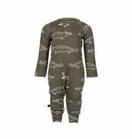 nOeser nOeser Jumpy jumpsuit croco woody green