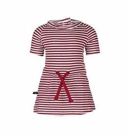 nOeser nOeser Pien kleedje stripe totem red