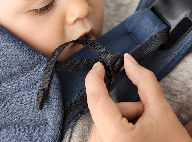 BabyBjörn BabyBjörn draagzak One cotton mix black