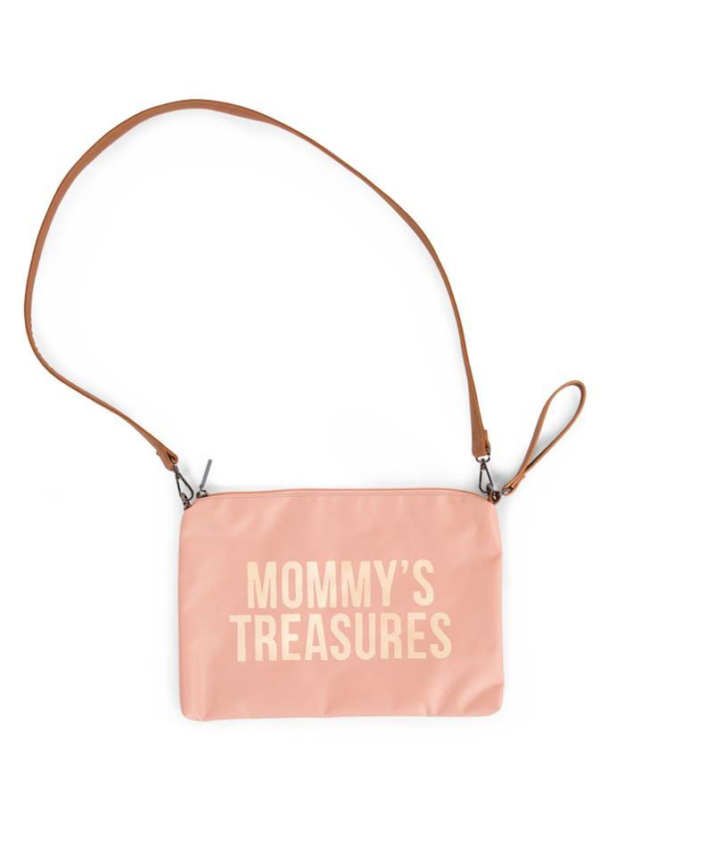 Childhome Childwheels mommy clutch pink copper