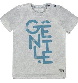 Tumble 'n Dry Tumble 'n dry Novak t-shirt grey melange maat 86