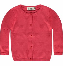 Tumble 'n Dry Tumble 'n dry Pansy cardigan carmine red