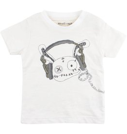 Small Rags Small Rags t-shirt vaporous grey maat 74