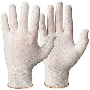 Granberg Polyester sterke onderhandschoenen WIT - per paar
