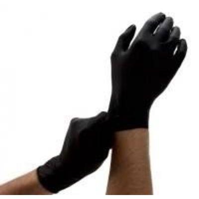 Medi-Inn Nitril handschoenen ZWART 100 st