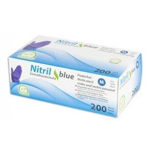 Medi-Inn Nitril handschoenen BLAUW Violet latexvrij - 200 st.