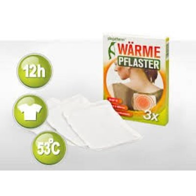 Pingutherm Warmtepleisters anti-allergie - doosje 3 stuks