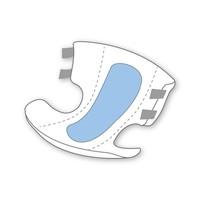 Incontinentieluiers DAG Large - 18 suks