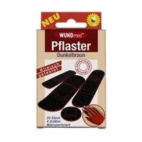 WUNDmed Bruine pleisters donkere huidskleur doosje a 20 st