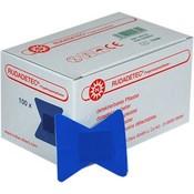 Noba Vingertop pleisters blauw detecteerbaar 100 st
